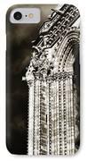 Vintage Notre Dame Details IPhone Case