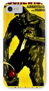 Vintage Poster - Germany - Down With Bolshevism IPhone Case by Benjamin Yeager