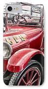 Vintage Studebaker Fire Engine IPhone Case by Douglas Barnard