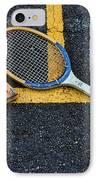 Vintage Tennis IPhone Case by Paul Ward
