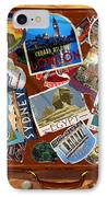 Vintage Travel Case IPhone Case by Garry Walton