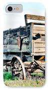 Vintaged Covered Wagon IPhone Case