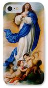 Virgin Of The Immaculate Conception After Murillo IPhone Case
