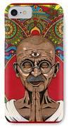 Visionary Gandhi IPhone Case