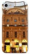 Vittorio Emanuele II Gallery Milan Italy IPhone Case