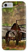 Wagon IPhone Case by Marty Koch