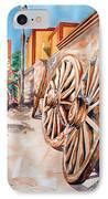 Wagon Wheels IPhone Case
