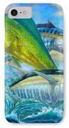Wahoo Mahi Mahi And Tuna IPhone Case by Terry  Fox