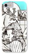 Waiting For The Call IPhone Case by George Pedro