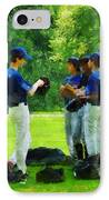 Waiting To Go To Bat IPhone Case