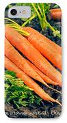 Walk With God - Garden Quote IPhone Case by Edward Fielding