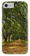Walk With Me IPhone Case by Steve Harrington
