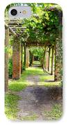 Walkway IPhone Case by Carey Chen
