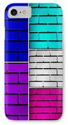 Wall Color Wall IPhone Case by Semmick Photo