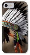 War Bonnet IPhone Case by Daniel Eskridge