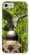 War Eagles - 29th Pennsylvania Infantry Slocum Avenue South Culp's Hill Spring Gettysburg IPhone Case by Michael Mazaika