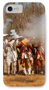 War - Revolutionary War - The Musket Drill IPhone Case by Mike Savad
