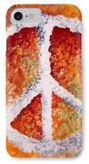 Warm Peace IPhone Case