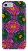 Warped Kaleidoscopic Lattice IPhone Case by Gregory Scott