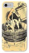 Washed By Mary - A Dog Day Collection 4 Of 27 IPhone Case