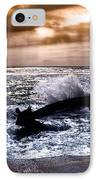 Washed Out To Sea - Outer Banks IPhone Case by Dan Carmichael