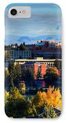 Washington State University In Autumn IPhone Case by David Patterson