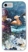 Water Fight IPhone Case by Miki De Goodaboom