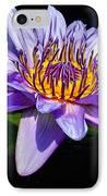 Water Flower IPhone Case by Nick Zelinsky
