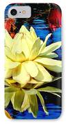 Water Lilly Pond IPhone Case by Nick Zelinsky