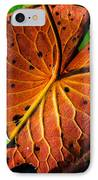 Water Lily Pad IPhone Case