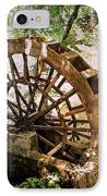Water Wheel IPhone Case by Marty Koch