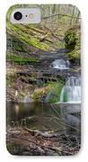 Waterfall At Parfrey's Glen IPhone Case