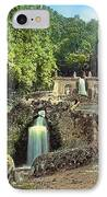 Waterfalls IPhone Case by Terry Reynoldson