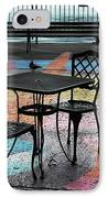 Waterfront Seating IPhone Case