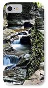 Watkins Glen State Park IPhone Case by Frozen in Time Fine Art Photography