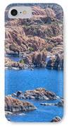 Watson Lake IPhone Case by Alex Troya