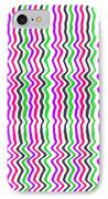 Wavy Stripe IPhone Case by Louisa Hereford