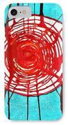 Web Of Life Original Painting IPhone Case