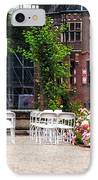 Wedding Arrangement In De Haar Castle. Utrecht  IPhone Case by Jenny Rainbow