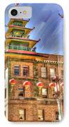 Welcome To Chinatown IPhone Case by Juli Scalzi