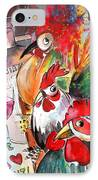 Welcome To Italy 08 IPhone Case by Miki De Goodaboom