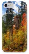 West Fork Wonders  IPhone Case by Saija  Lehtonen