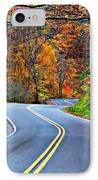 West Virginia Curves 2 IPhone Case