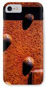 Wet Rivets  IPhone Case by Bob Orsillo