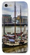 Wharf Ships IPhone Case
