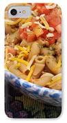 Wheat Pasta Goulash IPhone Case by Andee Design