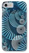 Wheel In The Sky 1 IPhone Case by Angelina Vick