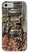 Wheels Of Time IPhone Case by Benanne Stiens