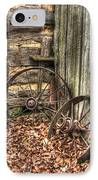 Wheels Of Time Two IPhone Case