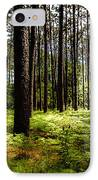 When The Forest Beckons IPhone Case by Karen Wiles